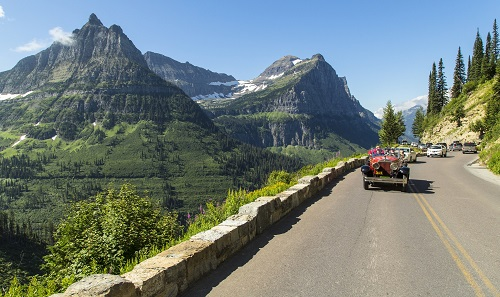 Going to the Sun road